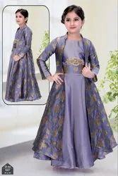 Long Jacket Gown