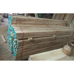 Brown Teak and Sawn Wood Timber, Thickness: Up to 3 inch