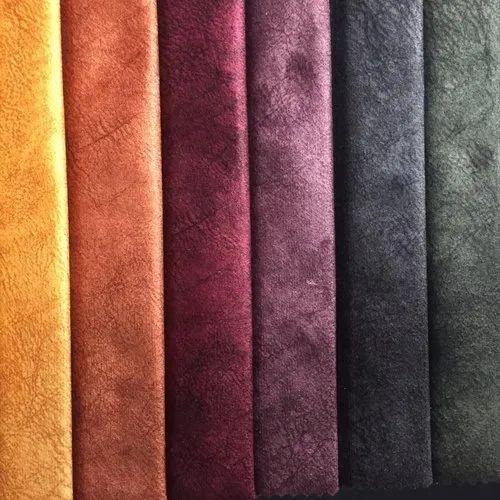 Sofa Fabric Plain Velvet