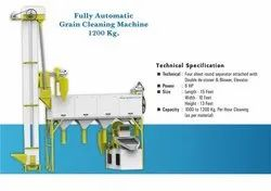 Fully Automatic Grain Cleaning Machine With Gravity Separator
