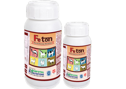 Veterinary Iron Tonic For Poultry, Dairy, Goat & Sheep (Feton)