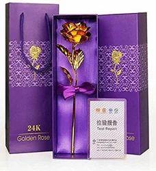 Rangoli Golden Rose, Pack Size: 26 Cm