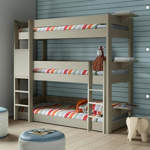 Standard Wooden Triple Bunk Bed Rs 28200 Piece S L Wood Works