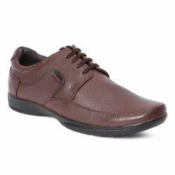 Brown Derby Formal Shoes For Men