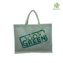 Jute Bag With Customized Logo Print