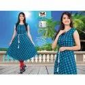 Casual Wear DS Ladies Casual Kurti, Handwash