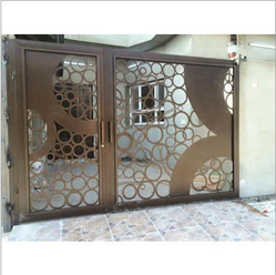 Swing Exclusive Precise Fabrication CNC Metal Cutting MS Gate MCM-10, for Residential