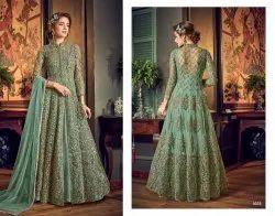 Georgette Designer Wedding Wear Anarkali Suit