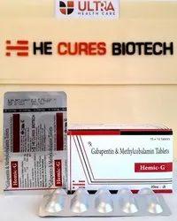 Gabapentin 300mg  Methylcobalamin 500mcg Tablet