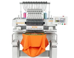 Single Head Computer Embroidery Machine For T- Shirt Logo