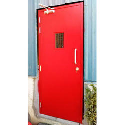 Red MS Door, Size/Dimension: 1100x2100 Mm