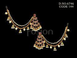 Traditional Stone Bahubali Earrings