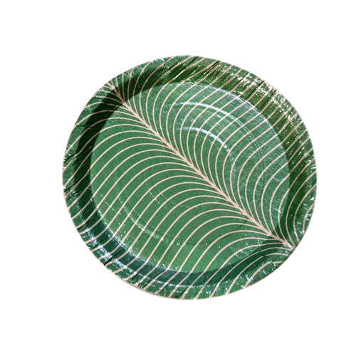 Round Banana Leaf Paper Plate  sc 1 st  IndiaMART & Round Banana Leaf Paper Plate at Rs 1 /piece | Disposable Plate ...
