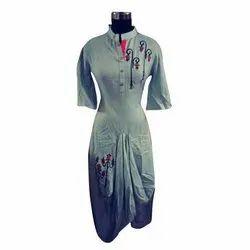 XL Rayon Ladies Party Wear Kurti