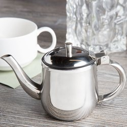 Stainless Steel 10 Oz Gooseneck Milk Tea Pot