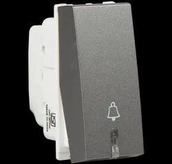 Havells 6 A Bell Push With Ind Switch