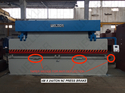 Automatic Large Size Press Brake Shearing Machines, Capacity: 300 To 2000 Tonnes