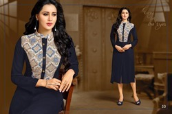 Collar Neck Full Sleeve Beauty Kurti