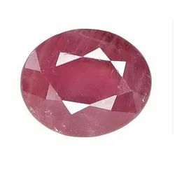 Ruby Cut Gemstone