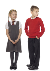 Cotton And Polyester Yes Children School Uniform