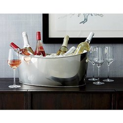 Stainless Steel Ship Shape Beverage Party Tub
