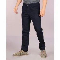 Plain Regular Fit Mens Denim Pant