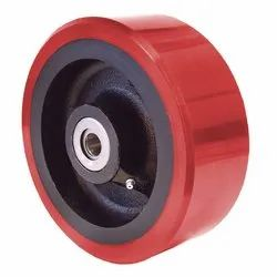 Red TPU Wheel Caster