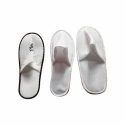 Disposable White Terry Slipper, Size: 11