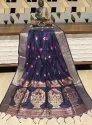 Handloom Cotton Weaving Paithani Saree