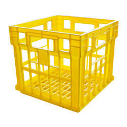 Yellow Plastic Crates