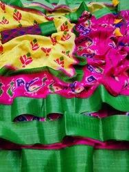 Exa Party Wear Mysore Silk Sarees, Length: 6.3 m (With Blouse Piece)