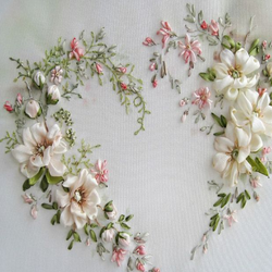 Silk Ribbon Embroidery Work