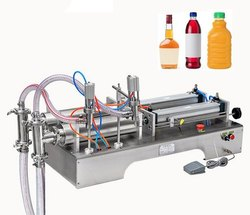 Double Head Liquid Piston Filling Machine
