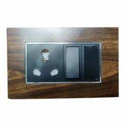 Wooden Texture Modular Plates, Ip55, Module Size: 3 Module