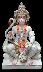 Sitting Hanuman Statue
