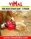 Vimal-72 One Man Chain Saw Machine
