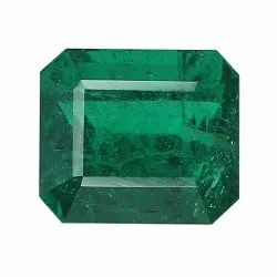 Mesmerizing Rich Green Well Cut Zambian Emerald In Emerald - Cut