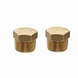 Hexagonical Brass Hexagonal Stop Plug