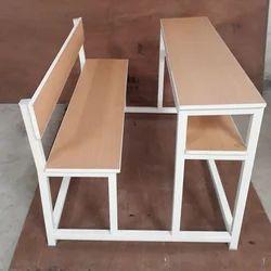 School Dual Desk Bench