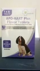 Apo-Hart Plus Flavor Tablets ( For Medium Dogs)