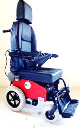 Motorized Deluxe Wheelchair