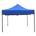 Blue Gazebo Tents On Hire, Size:10x10ft