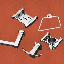 Kresha Stainless Steel Bathroom Accessories Set