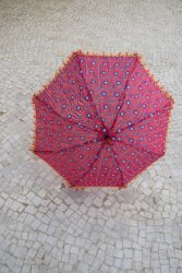 Indian Hand Embroidered- Navratri Decoration Umbrella