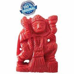 Coral Hanuman Large