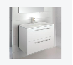 Wall Mounted White Kerovit Wash Basin, For Bathroom