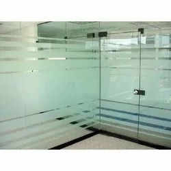 Hinges Glass Partition Door, for Office