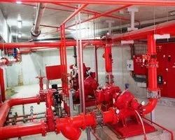 Under Warranty Period 6 Months Fire Fighting Contractor, 1 Year