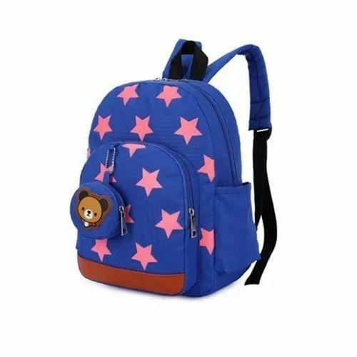 4eab9681cc8b Polyester Printed Student School Backpack Bag