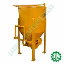 Center Discharge Concrete Bucket